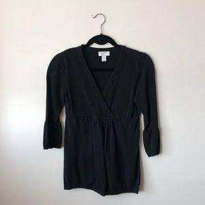 ANN taylor Loft - empire waist sweater - S